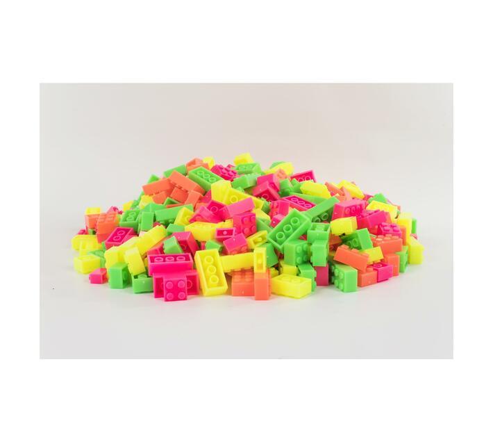 LUMO Coloured 1kg Bag of Bricks
