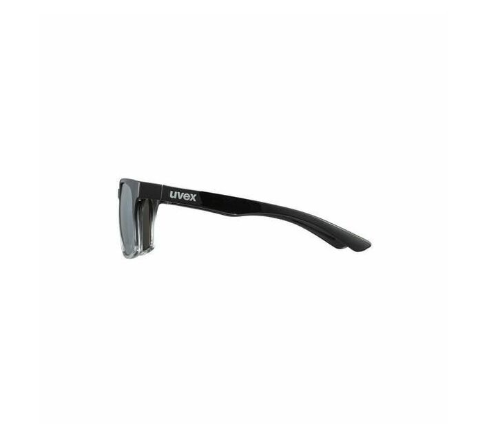uvex lgl 35- black clear- silver Sunglasses