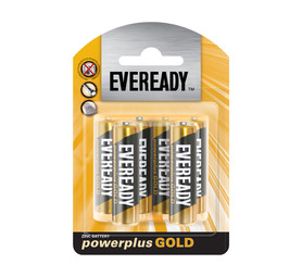 EVEREADY POWER PLUS GOLD AA  6 PACK