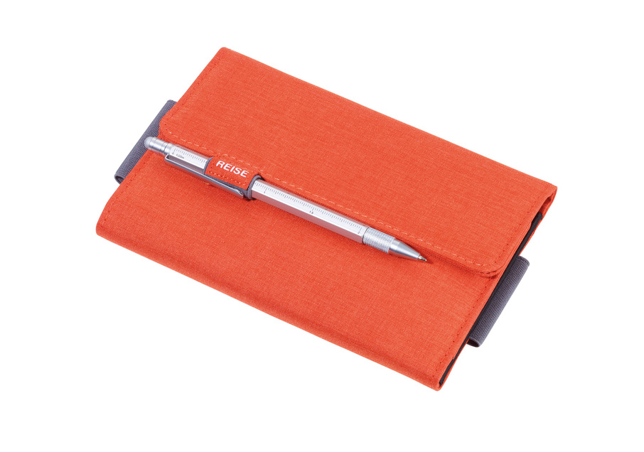 Troika Organiser Document Travel Case TRAVEL OFFICE Orange/Grey