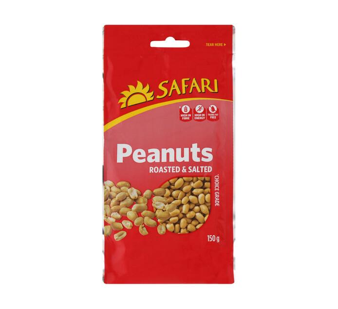 Safari Nuts Roasted & Salted (1  x  150g)