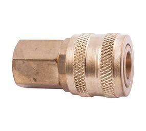 Quick Coupler Aro Style Brass 1/4 Female