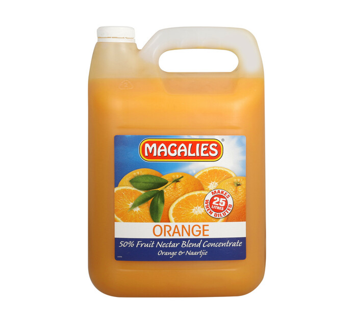 Magalies Concentrates Orange (1 x 5L)
