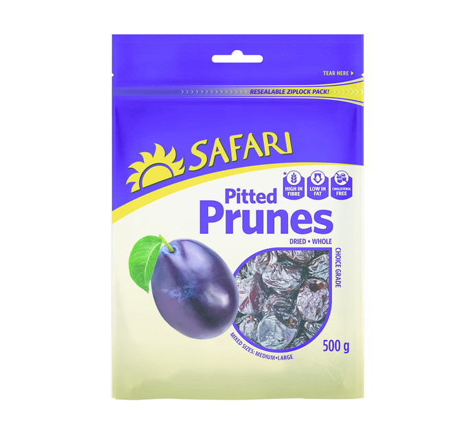 SAFARI Prunes Pitted (1 x 500g)