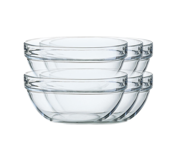 ARCOROC 6 Pack Stacking Bowl