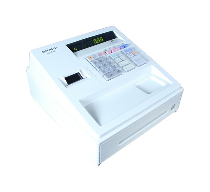 Sharp XE-A137-WH Cash Register