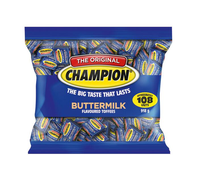 Champion Toffee Bag Buttermilk (1 x 918g)
