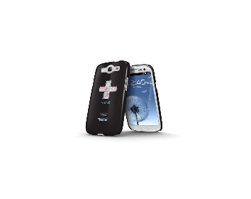 Whatever It Takes Tough Shield Samsung Galaxy S3 Cover (Coldplay Black)