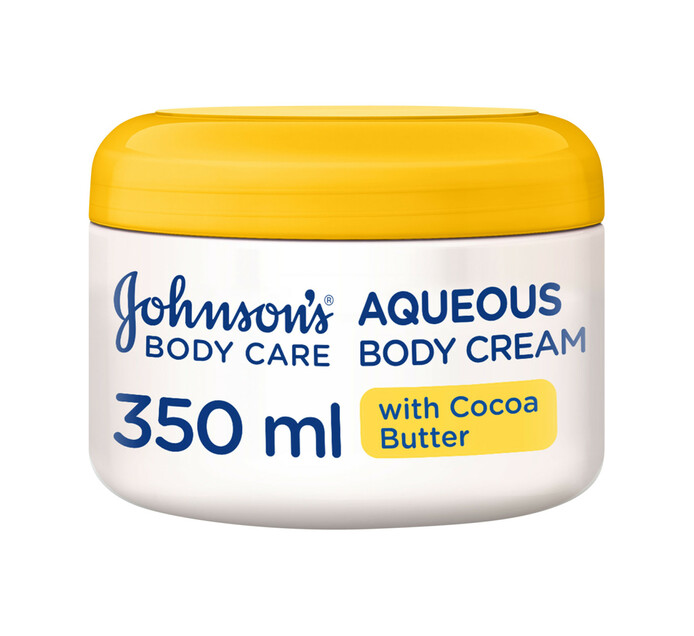 Johnsons Aqueous Body Cream Cocoa Butter +VitE (1 x 350ml)