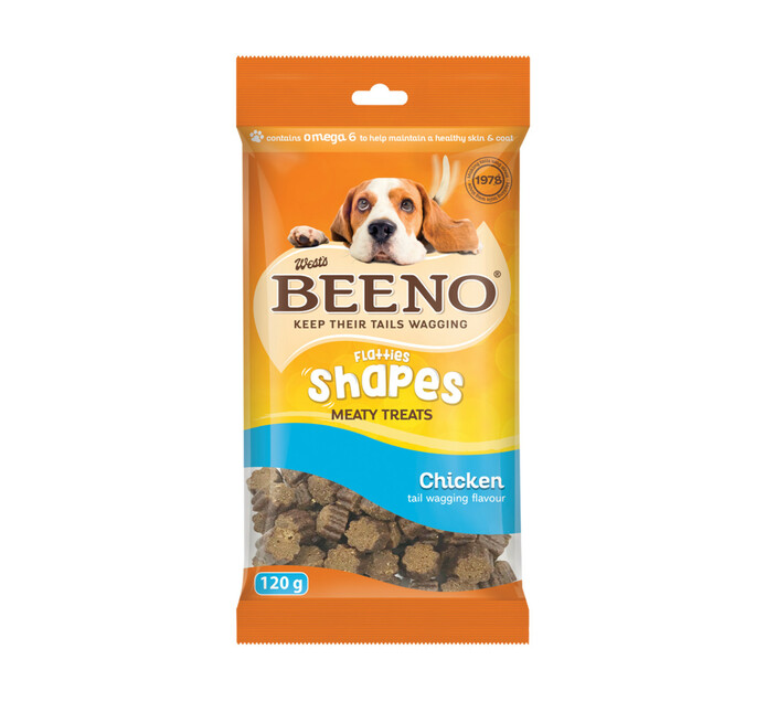 Beeno M/Treats Shapes Chicken (20 x 120g)