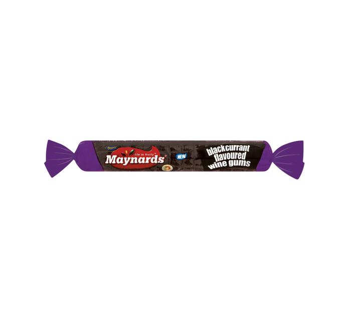 Maynards Wine Gum Rolls Blackcurrant (1 x 36's)
