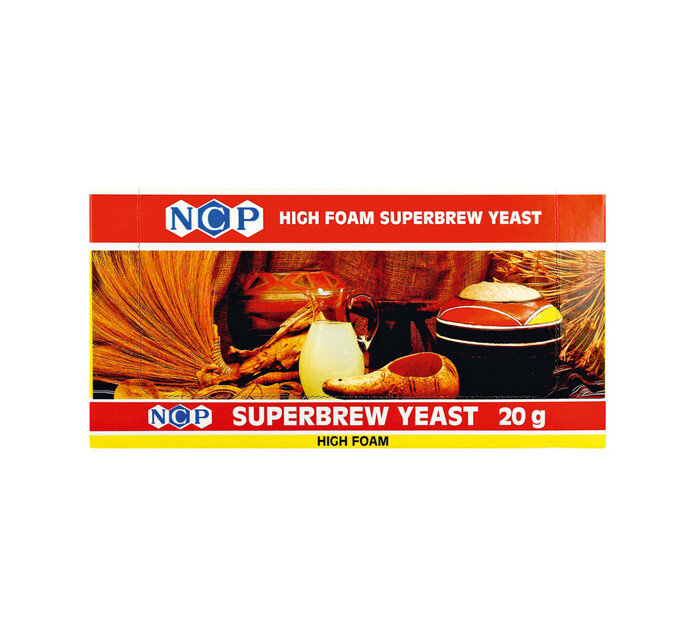 NCP Superbrew Yeast (24 x 20g)