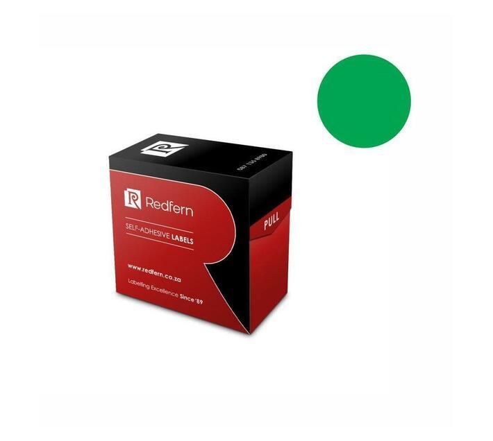 Redfern Self-Adhesive Colour Codes - C19 Green