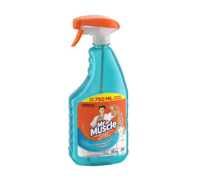 Mr Muscle Glass and Surface Cleaner Fresh (6 x 750ml)
