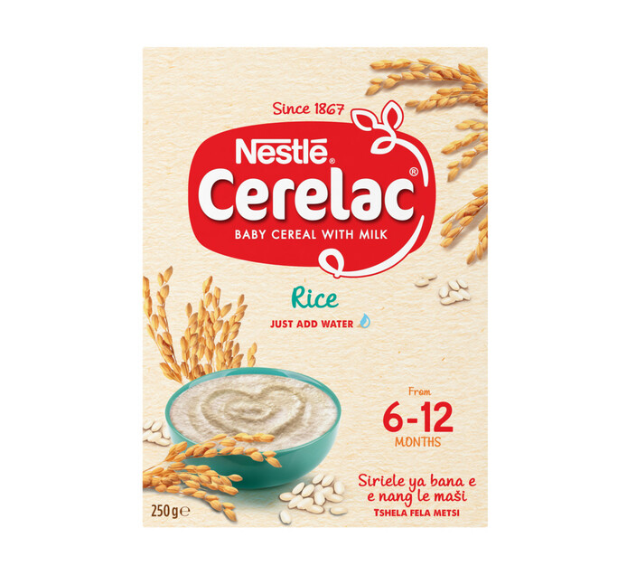Nestle Cerelac Infant Cereal Rice (1 x 250g)