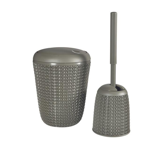 Curver Bathroom Bin And Toilet Brush