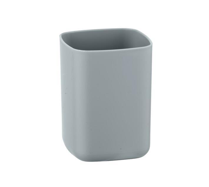 WENKO Toothbrush Tumbler - Barcelona Range - Grey - Unbreakable