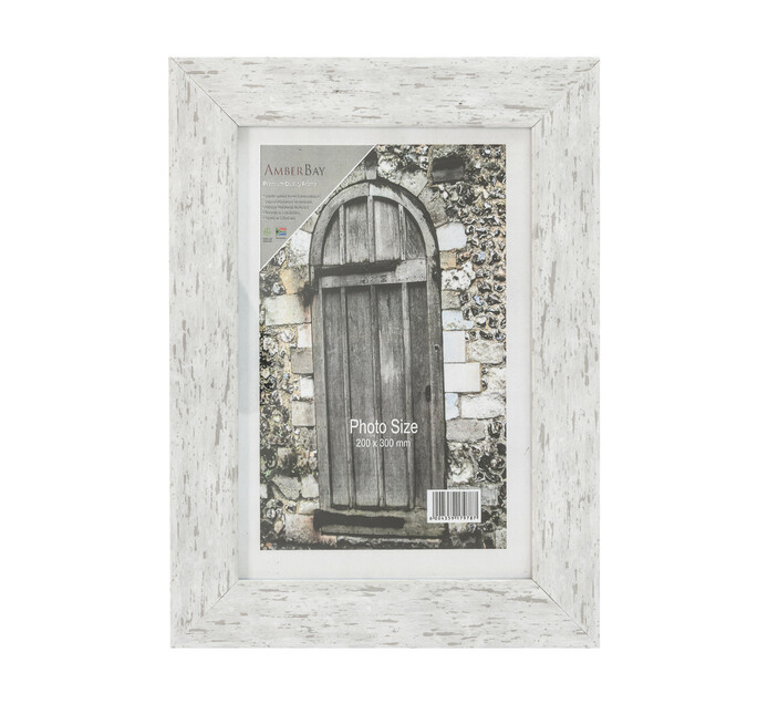 200 x 300 mm Frame White Wash