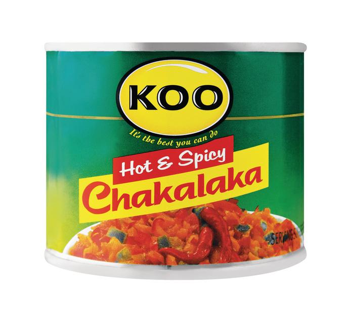 KOO Chakalaka Hot (12 x 215g)