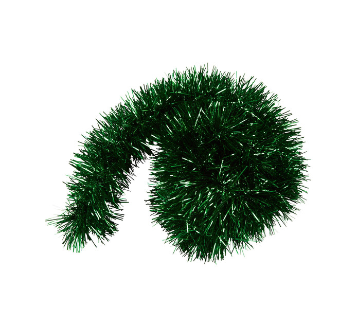 St Nicholas 2M Green Tinsel