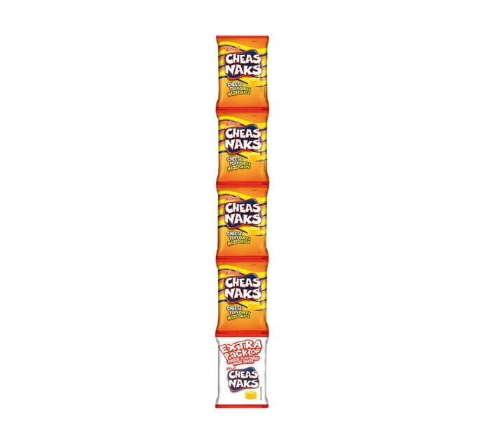 Willards Cheasnaks Strip Pack Cheese (120 x 22g)