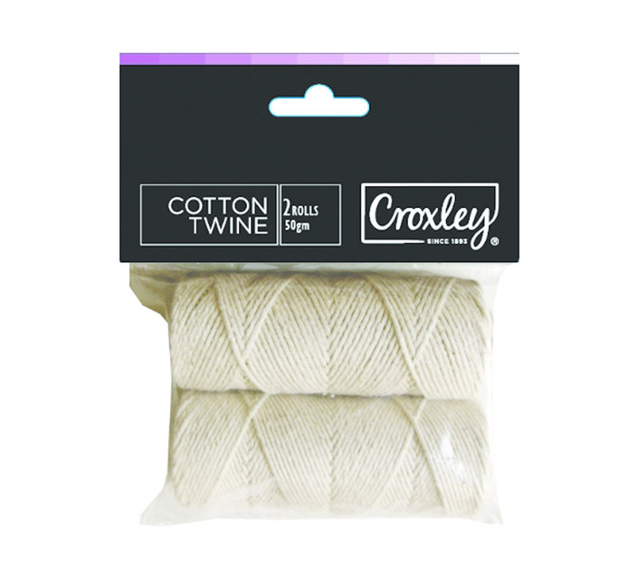 Croxley Create Cotton Twine String 2 Pack