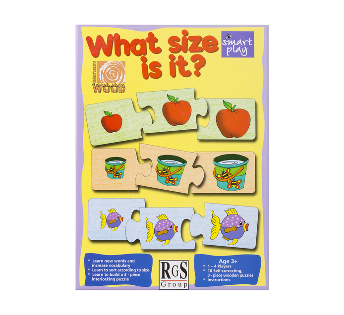 What is the Size Educational Game | Pre School Toys ...