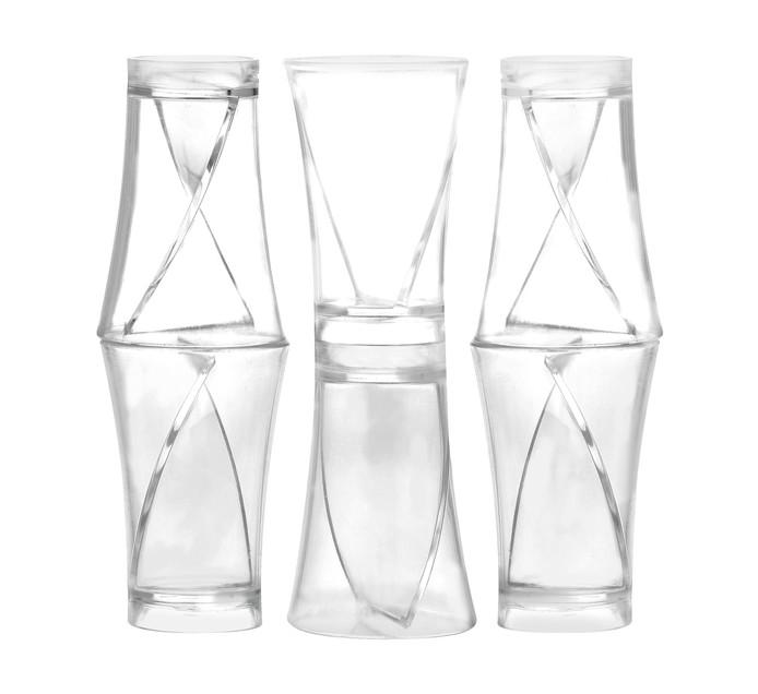 Kwik Shot Twister Shot Glass 50ml 6pk
