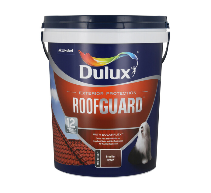 Dulux 20 l Roofguard Brazilian brown