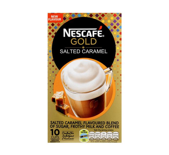 Nescafe Cappuccino Sachets Salted Caramel Latte (10 x 18g)