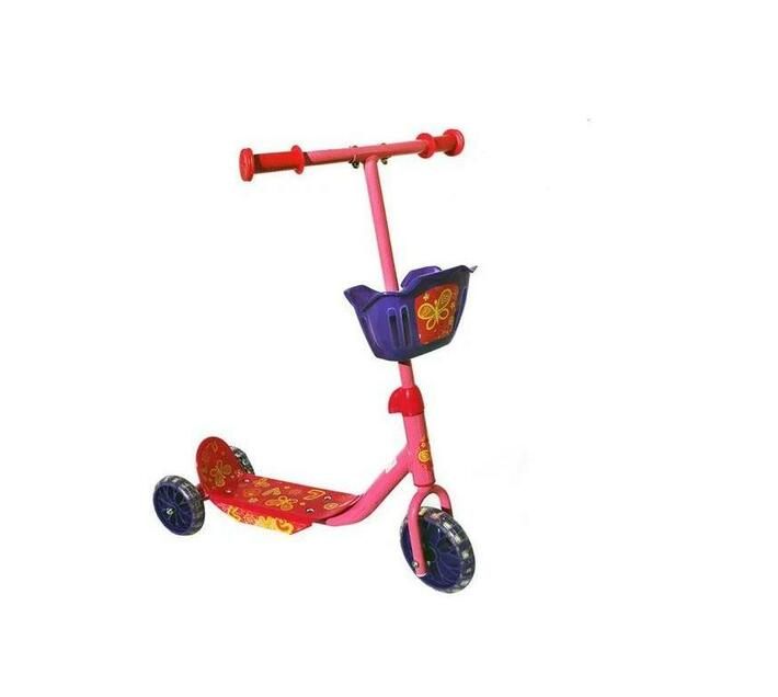 Super Pink Kiddies Adventure Scooter