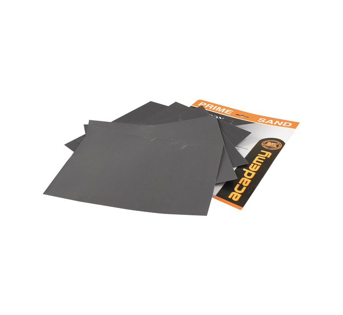 Academy 600GRIT Sandpaper Black