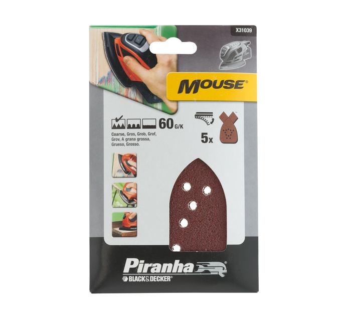 Piranha 60G Sandpaper Sheets