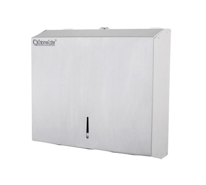 CHROMECATER S/Steel Paper Towel Dispenser with Lock