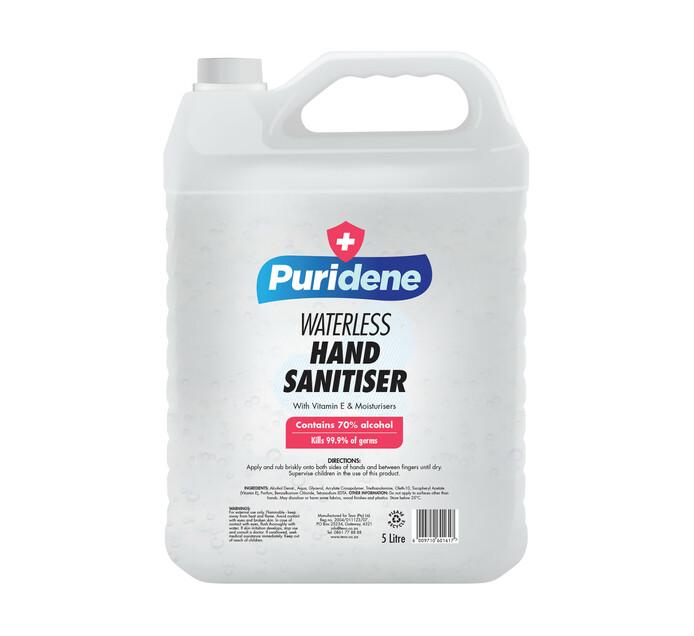 Puridene Hand Sanitiser Waterless (5 l)