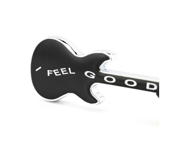 Troika Keyring Guitar Charm I Feel Good