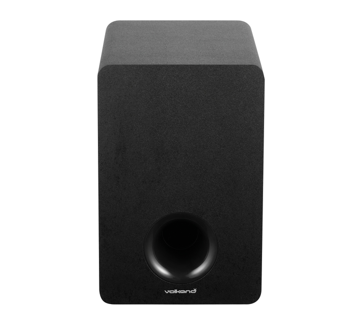 VolkanoX Hypersonic Series 100W 2.1 Soundbar with Remote Control, 3D Sound Modes, EQ Modes, and Optical Input