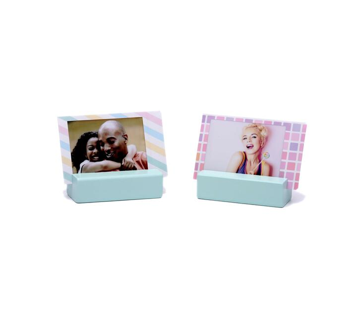 Instax Wooden Picture Stand Ice Blue 2 stands