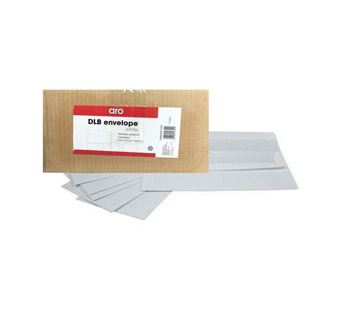 ARO DL Banker Seal Easi Envelopes 500-Pack