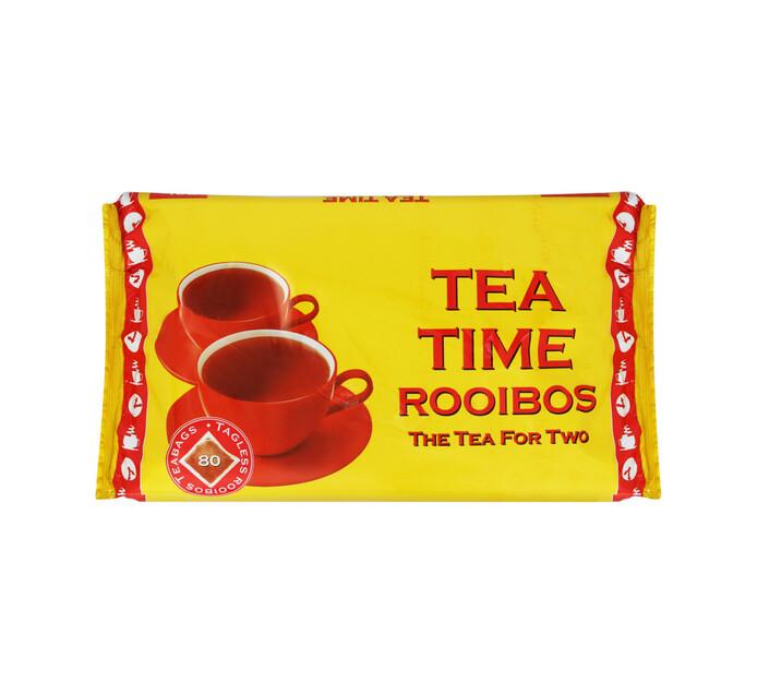 TEA TIME Rooibos Tea (1 x 80's)