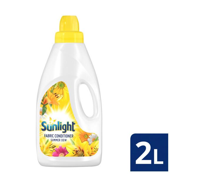 Sunlight Fabric Softener Summer Dew (8 x 2L)