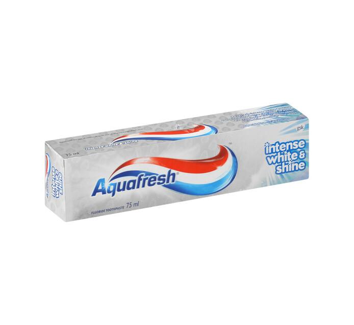 Aquafresh Toothpaste Intense White and Shine (1 x 75ml)