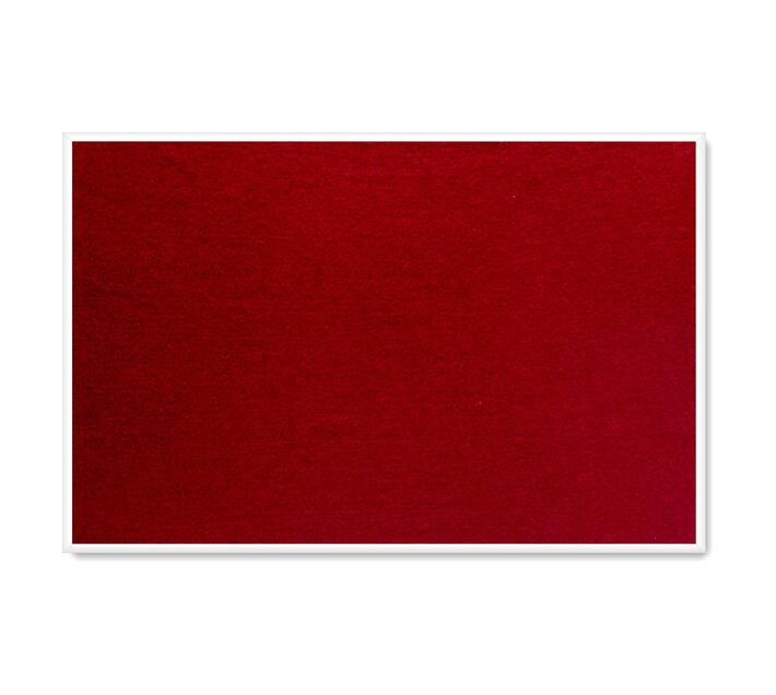 PARROT PRODUCTS Info Board (Plastic Frame, 600*450mm, Burgundy)
