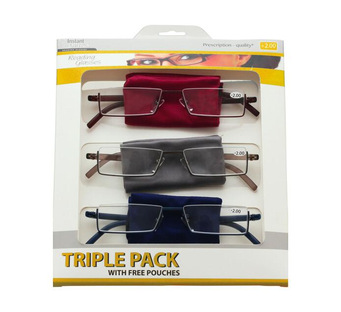 Instant Optics Triple Pack 4 - 2.00