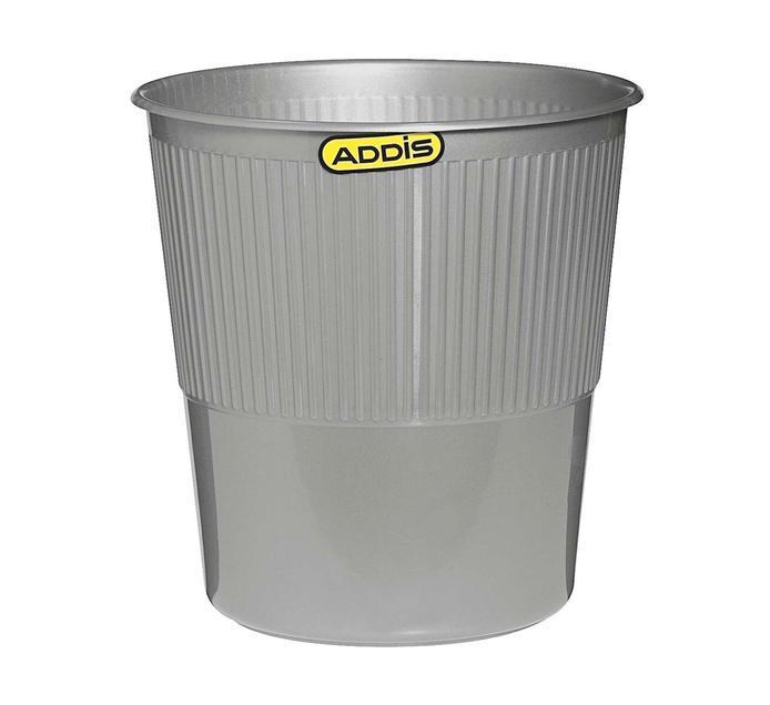 Addis 8.5l Waste Bin Platinum