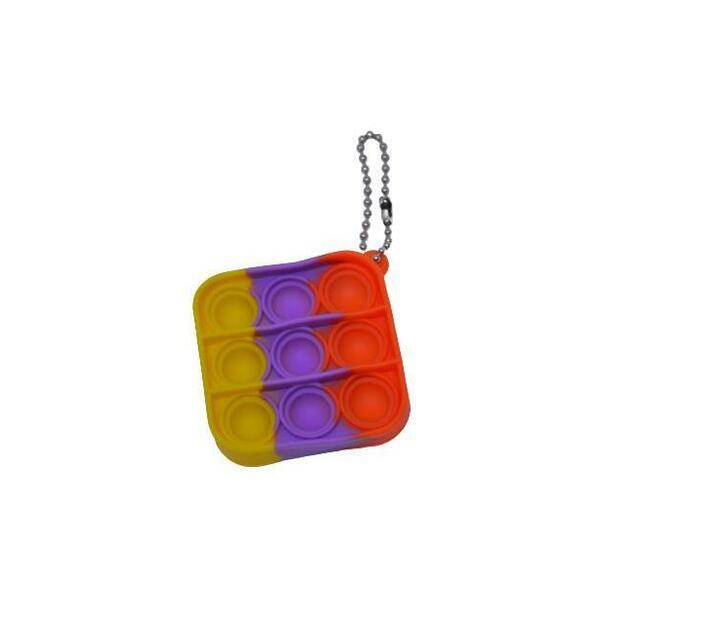 Poppet Fidget Toy (Mixed Colors Square)