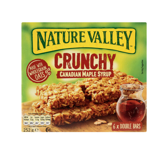 Nature Valley Granola Bars Maple Syrup (6 x 42g)