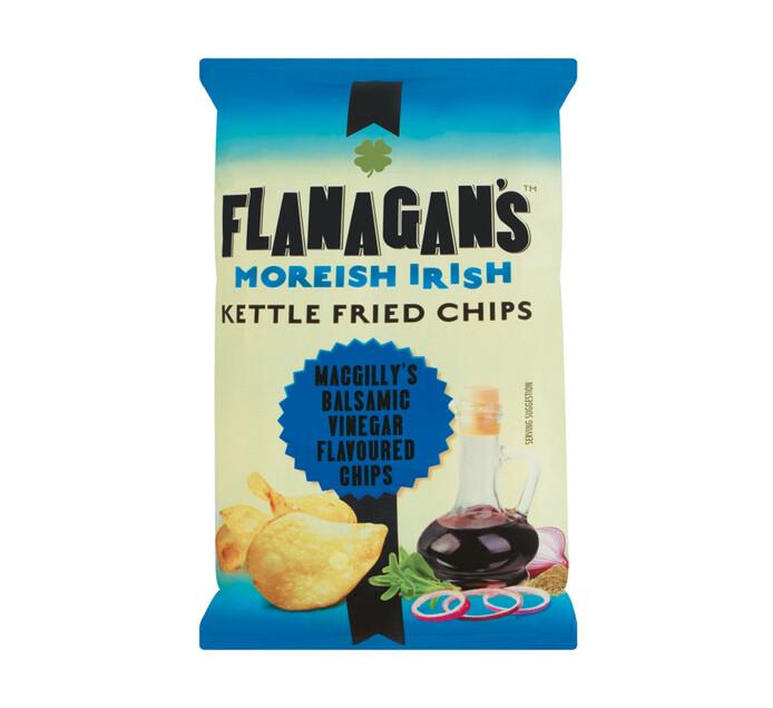 Flanagan's Potato Chips Balsamic Vinegar (1 x 125g)