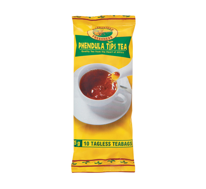 PHENDULA Black Tea Pouch (20 X 10'S)