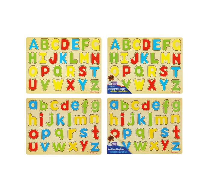 Peg Board Puzzle Afrikaans